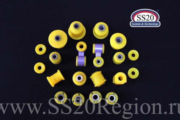 К-т сайлентблоков полиуретановых SS20 КОМФОРТ (комплектация НОРМА) для а/м ЛАДА ГРАНТА