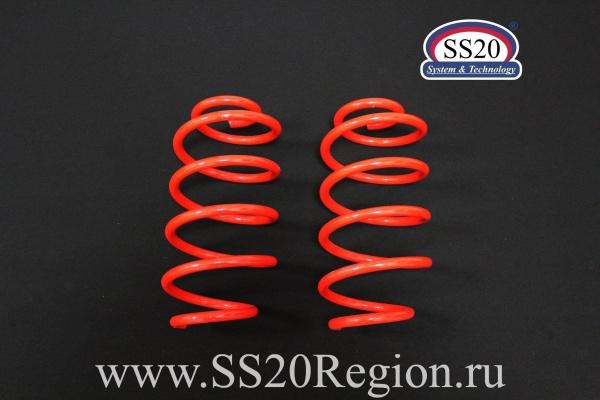 Пружины передних стоек SS20 Racing -50мм (холодной навивки) для а/м DATSUN ON-DO MI-DO