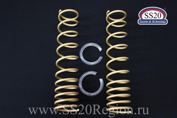 Комплект подвески SS20 ШОССЕ c опорой SS20 МАСТЕР пружиной SS20 GOLD Progressive (без занижения) для а/м ВАЗ 2108-099