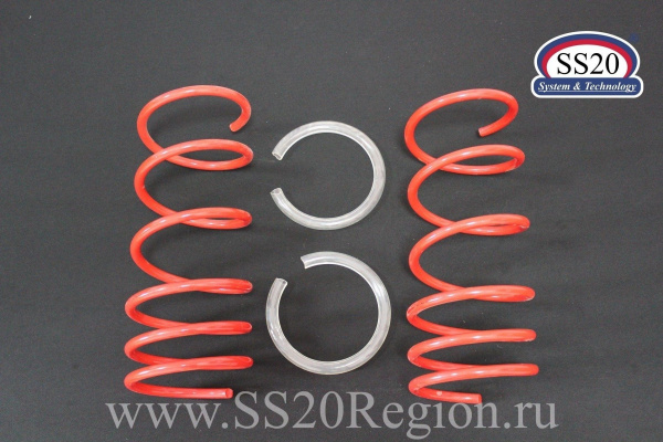 Комплект подвески SS20 Racing-КОМФОРТ -30мм c опорой SS20 МАСТЕР пружиной SS20 Racing (с занижением) для а/м ВАЗ 2108-099