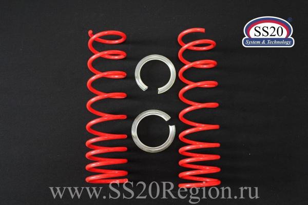 Комплект подвески SS20 Racing-СПОРТ -50мм c опорой SS20 Hard-СПОРТ ШС пружиной SS20 Racing (с занижением) для а/м ВАЗ 2108-099
