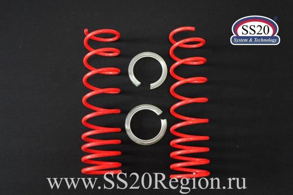 Пружины задних амортизаторов SS20 Racing -70мм (с занижением, переменный шаг) для а/м ЛАДА КАЛИНА II
