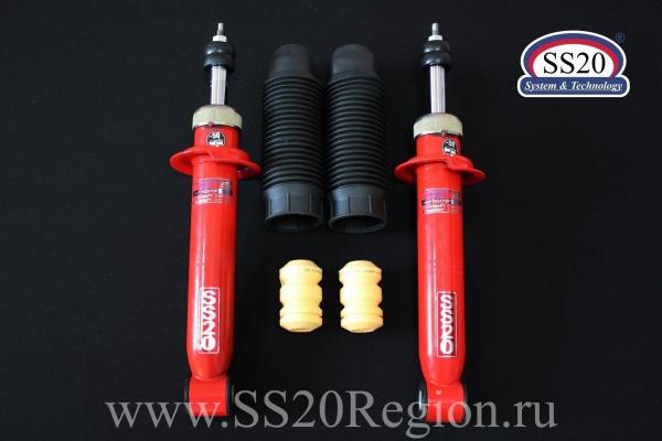 Комплект подвески SS20 Racing-СПОРТ -70мм с опорой SS20 МАСТЕР для а/м ВАЗ 1117-1119 ЛАДА КАЛИНА 1 с 2006 по 2012г.в.(с занижением -70мм)