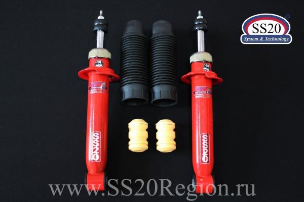 Комплект подвески SS20 Racing-СПОРТ -30мм с опорой SS20 HARD СПОРТ ШС для а/м ВАЗ 1117-1119 ЛАДА КАЛИНА 1 с 2006 по 2012г.в.(с занижением -30мм)