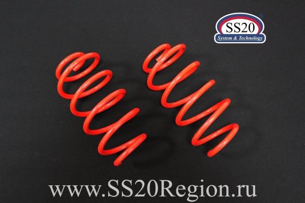Пружины передних стоек SS20 Racing -30мм (холодной навивки) для а/м ЛАДА КАЛИНА 2