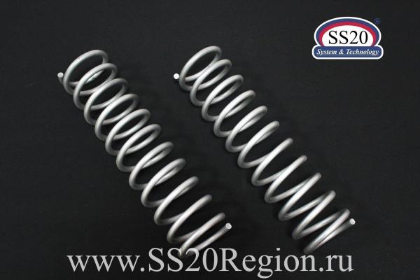 Пружины задних амортизаторов SS20 СТАНДАРТ (без занижения, стандартный шаг) для а/м ЛАДА КАЛИНА II
