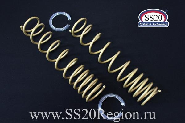 Пружины задних амортизаторов SS20 Gold Progressive (без занижения, переменный шаг) для а/м ЛАДА КАЛИНА II