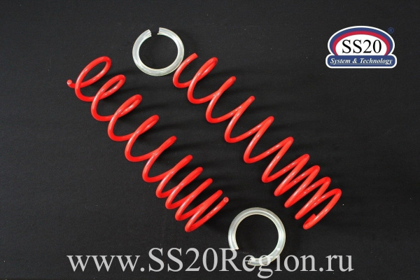 Пружины задних амортизаторов SS20 Racing -30мм (с занижением, переменный шаг) для а/м ЛАДА КАЛИНА II