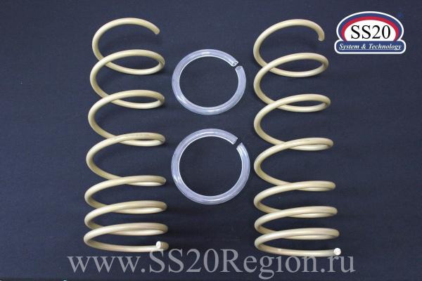 Комплект подвески SS20 СПОРТ ШС Повышенной надежности с опорой SS20 Hard-СПОРТ ШС пружиной SS20 GOLD Progressive для а/м ВАЗ 2110-2112 (без занижения)