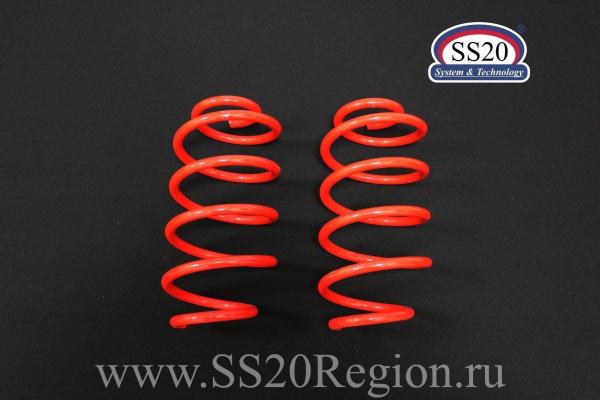 Комплект подвески SS20 Racing-СПОРТ -50мм с опорой SS20 HARD СПОРТ ШС для а/м ВАЗ 1117-1119 ЛАДА КАЛИНА 1 с 2006 по 2012г.в.(с занижением -50мм)
