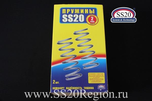 Пружины задней подвески SS20 СТАНДАРТ (стандартный шаг) для а/м ВАЗ 2123 НИВА ШЕВРОЛЕ