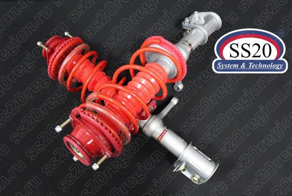 Модули передней подвески SS20 ШОССЕ c опорой SS20 СПОРТ пружиной SS20 Racing (с занижением -30мм) для а/м ВАЗ 2108-099