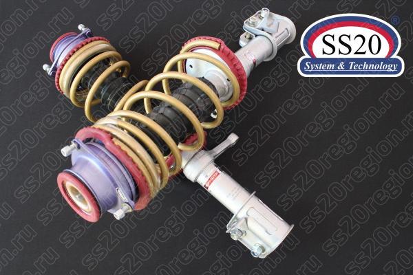 Модули передней подвески SS20 ШОССЕ c опорой SS20 МАСТЕР пружиной SS20 Gold Progressive (без занижения) для а/м ВАЗ 2110-12