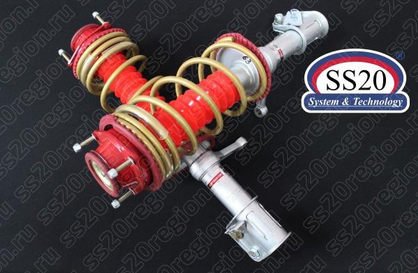 Модули передней подвески SS20 КОМФОРТ-ОПТИМА c опорой SS20 СПОРТ пружиной SS20 Gold Progressive (без занижения) для а/м ВАЗ 2108-099