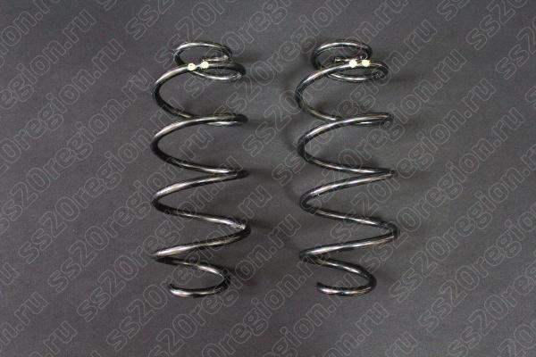 Пружины холодной навивки Amorti Комфорт бочкообразная без занижения для авто с 2009 г.в.