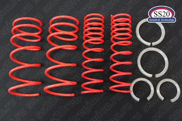 Комплект пружин SS20 Racing -50мм (с занижением, переменный шаг) для а/м ВАЗ 2113-15