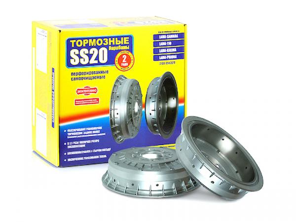 Перфорированные тормозные барабаны для ВАЗ 2110-2112