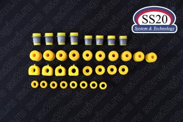 К-т сайлентблоков SS20 КОМФОРТ (передней и задней подвески) для а/м ВАЗ 2101-07