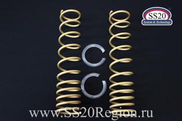 Пружины задних амортизаторов SS20 Gold Progressive (без занижения, переменный шаг) для а/м ЛАДА КАЛИНА 1