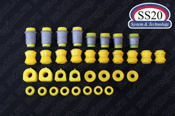 Комплект полиуретановых сайлентблоков ВАЗ 2121-2131 НИВА