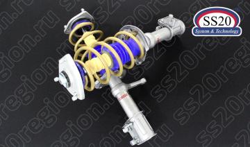 Модули передней подвески SS20 СПОРТ c опорой SS20 GOLD пружиной SS20 Gold Progressive (без занижения) для а/м ЛАДА КАЛИНА 1