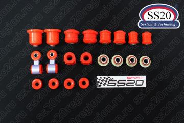Полиуретановые сайлентблоки SS20 Спорт (комплект)
