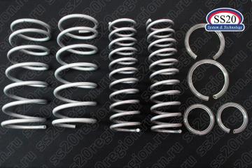 Комплект пружин SS20 СТАНДАРТ 8 кл. мотор (без занижения, стандартный шаг) для а/м ВАЗ 2113-15